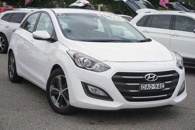 Used Hyundai i30 GD3 Series II MY16 Active X Phillip, 2015 Hyundai i30 GD3 Series II MY16 Active X White 6 Speed Sports Automatic Hatchback