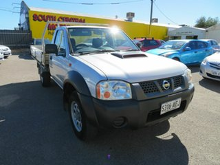 2009 Nissan Navara D22 MY08 DX (4x4) Silver 5 Speed Manual Cab Chassis