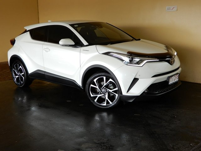 Used Toyota C-HR NGX50R Koba (AWD) Toowoomba, 2017 Toyota C-HR NGX50R Koba (AWD) White Continuous Variable Wagon