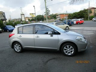 2006 Nissan Tiida C11 Q Silver 4 Speed Automatic Hatchback