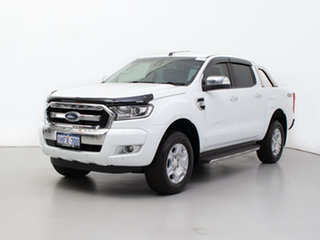 2017 Ford Ranger PX MkII MY17 XLT 3.2 (4x4) White 6 Speed Manual Double Cab Pick Up.