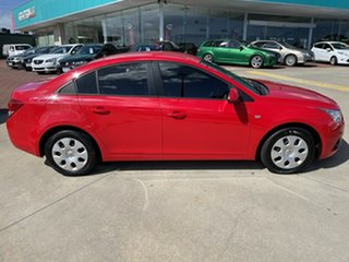 2011 Holden Cruze JH MY12 CD Red 5 Speed Manual Sedan