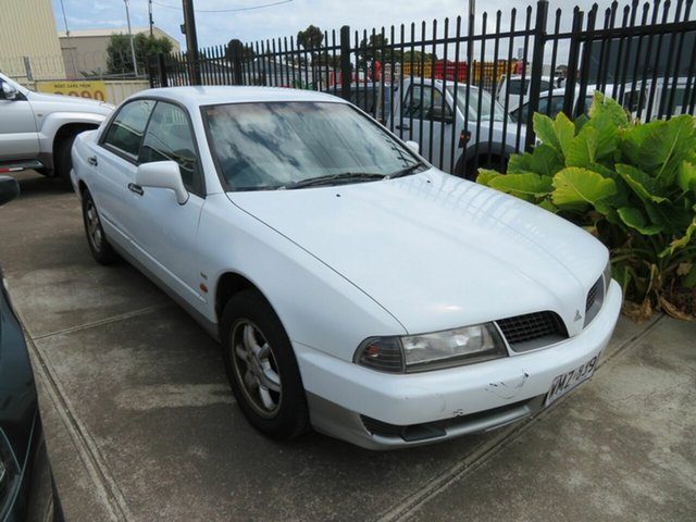 Used Mitsubishi Magna Morphett Vale, 2000 Mitsubishi Magna White 4 Speed Automatic Sedan