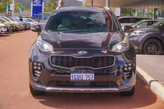 2016 Kia Sportage QL MY17 GT-Line AWD Black 6 Speed Sports Automatic Wagon