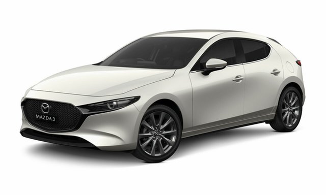 New Mazda 3 BP2H7A G20 SKYACTIV-Drive Evolve Toowoomba, 2020 Mazda 3 BP2H7A G20 SKYACTIV-Drive Evolve VISION TECHNOLOGY Snowflake White Pearl 6 Speed