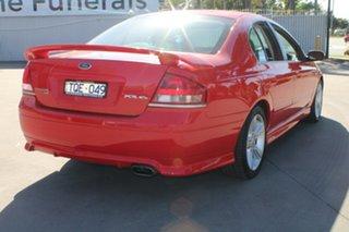 2005 Ford Falcon BA MkII XR6 Red 4 Speed Auto Seq Sportshift Sedan