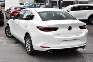 2020 Mazda 3 BP2S7A G20 SKYACTIV-Drive Pure White 6 Speed Sports Automatic Sedan