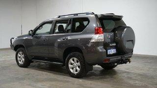 2013 Toyota Landcruiser Prado GRJ150R GXL Grey 5 Speed Sports Automatic Wagon.