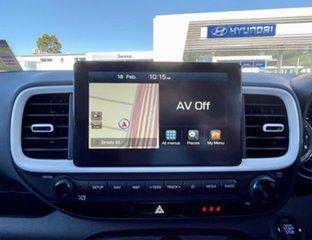 2020 Hyundai Venue QX.V3 MY21 Elite ((Sunroof) Polar White 6 Speed Automatic Wagon