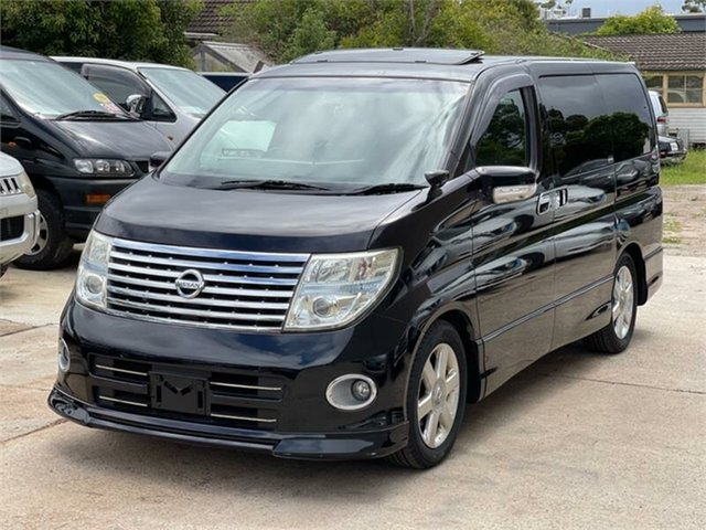 Used Nissan Elgrand E51 Highway Star Silverwater, 2007 Nissan Elgrand E51 Highway Star Black Automatic Wagon