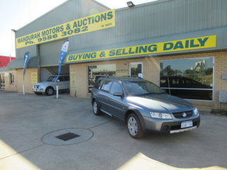 2005 Holden Adventra VZ SX6 Silver 5 Speed Automatic Wagon
