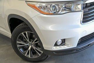 2016 Toyota Kluger GSU50R GXL 2WD White 6 Speed Sports Automatic Wagon.
