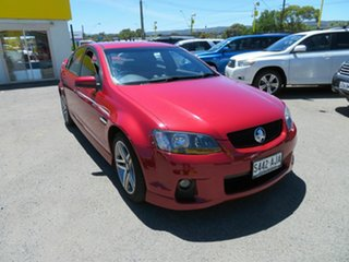 2010 Holden Commodore VE II SV6 Red 6 Speed Automatic Sedan.
