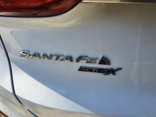 2020 Hyundai Santa Fe TM.2 SANTA FE 7S ACTIVE X 2.2D AUTO (S1W72FC5KDDAG6) White Cream AT-8SPEED 4WD