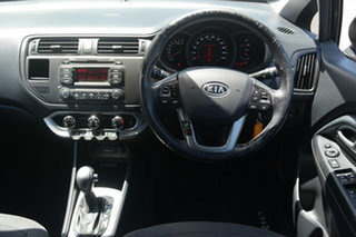 2011 Kia Rio UB MY12 SLi Black 6 Speed Sports Automatic Hatchback