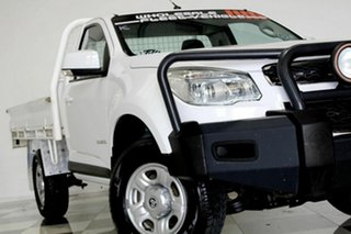 2014 Holden Colorado RG MY15 LS (4x2) White 6 Speed Automatic Cab Chassis.