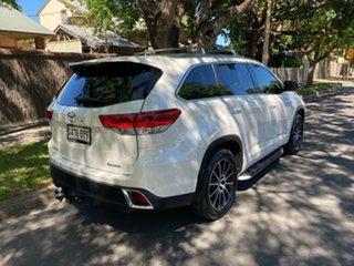 2017 Toyota Kluger GSU50R Grande 2WD White 8 Speed Sports Automatic Wagon