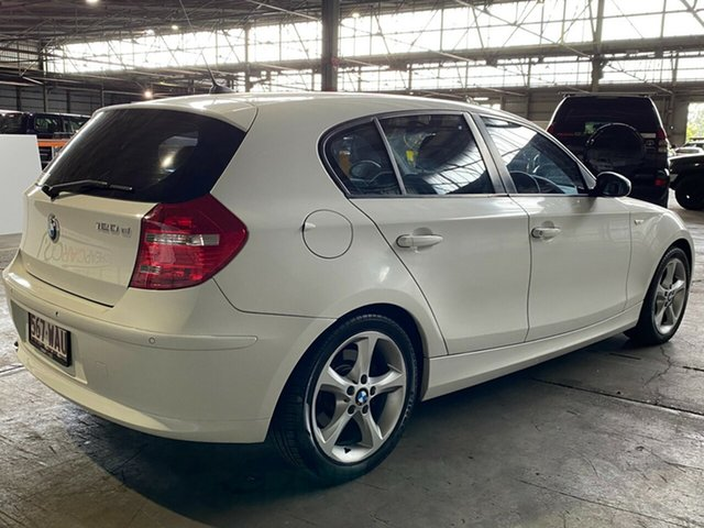 Used BMW 1 Series E87 MY09 120d Steptronic Rocklea, 2009 BMW 1 Series E87 MY09 120d Steptronic White 6 Speed Automatic Hatchback