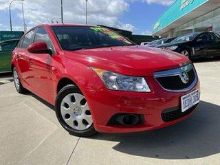 2011 Holden Cruze JH MY12 CD Red 5 Speed Manual Sedan.