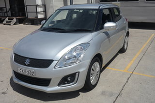 2014 Suzuki Swift FZ MY14 GL Navigator Silver 4 Speed Automatic Hatchback