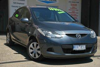 2008 Mazda 2 DE Neo Grey 4 Speed Automatic Hatchback.
