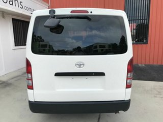 2011 Toyota HiAce TRH201R MY11 LWB White 4 Speed Automatic Van