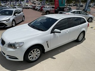 2015 Holden Commodore VF II Evoke White 6 Speed Automatic Sportswagon
