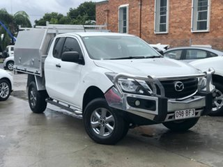 2019 Mazda BT-50 UR0YG1 XT Freestyle White 6 Speed Sports Automatic Cab Chassis.