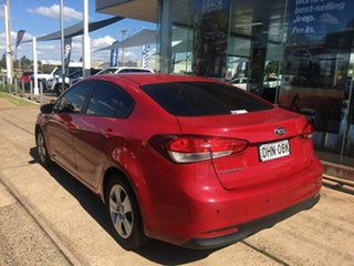 2016 Kia Cerato YD S Red Sports Automatic
