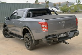 2017 Mitsubishi Triton MQ MY17 GLS Double Cab Sports Edition Grey 6 Speed Manual Utility.