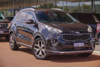 2016 Kia Sportage QL MY17 GT-Line AWD Black 6 Speed Sports Automatic Wagon.