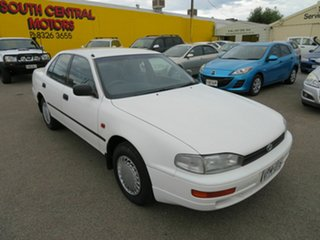 1994 Toyota Camry White 4 Speed Automatic Sedan.