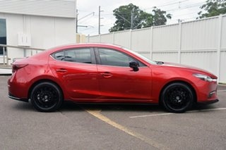 2017 Mazda 3 BN5238 SP25 SKYACTIV-Drive GT Red 6 Speed Sports Automatic Sedan