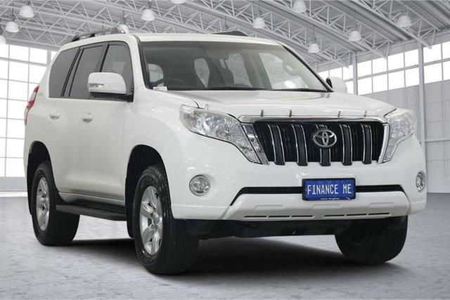 Used Toyota Landcruiser Prado GDJ150R GXL Victoria Park, 2016 Toyota Landcruiser Prado GDJ150R GXL White 6 Speed Sports Automatic Wagon