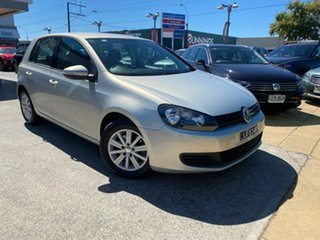 2009 Volkswagen Golf VI 90TSI DSG Trendline Silver 7 Speed Sports Automatic Dual Clutch Hatchback.