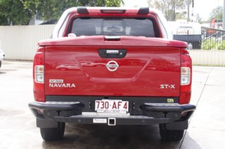 2015 Nissan Navara D23 ST-X Red 7 Speed Sports Automatic Utility
