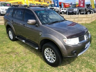 2012 Mitsubishi Challenger PB (KH) MY12 LS Brown 5 Speed Sports Automatic Wagon.