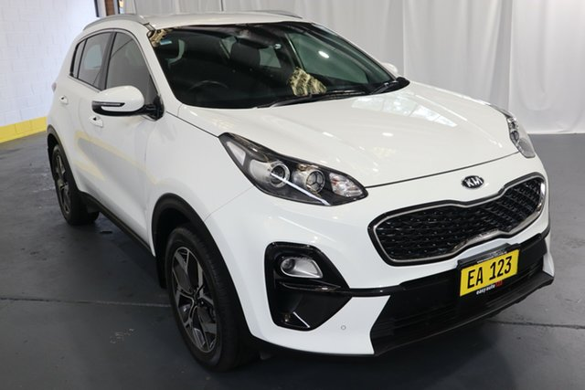 Used Kia Sportage QL MY19 Si 2WD Premium Castle Hill, 2018 Kia Sportage QL MY19 Si 2WD Premium White 6 Speed Sports Automatic Wagon