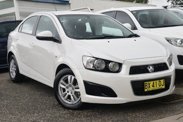 Used Holden Barina TM MY13 CD West Gosford, 2013 Holden Barina TM MY13 CD White 6 Speed Automatic Sedan