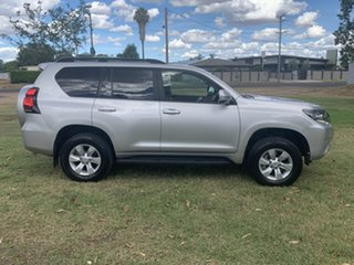 2018 Toyota Landcruiser Prado GDJ150R GXL Silver Pearl 6 Speed Sports Automatic Wagon