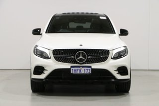 2018 Mercedes-Benz GLC-Class C253 808MY GLC43 AMG Coupe 9G-Tronic 4MATIC White 9 Speed.