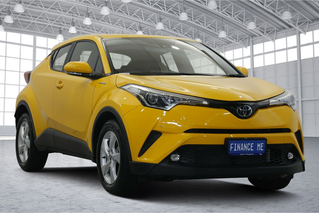 Used Toyota C-HR NGX10R S-CVT 2WD Victoria Park, 2019 Toyota C-HR NGX10R S-CVT 2WD Yellow 7 Speed Constant Variable Wagon