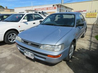 1996 Toyota Corolla AE102R Conquest Silver 4 Speed Automatic Sedan.