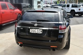 2014 Holden Commodore VF MY14 SV6 Sportwagon Storm Black 6 Speed Sports Automatic Wagon
