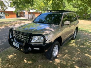 2007 Toyota Landcruiser VDJ200R Sahara Champagne 6 Speed Sports Automatic Wagon.