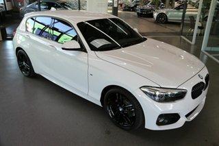 2019 BMW 1 Series F20 LCI-2 118i Steptronic M Sport Shadow Edition White 8 Speed Sports Automatic