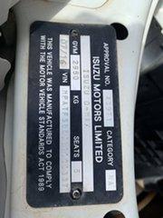 2016 Isuzu D-MAX MY15 SX Crew Cab White 5 Speed Manual Cab Chassis