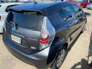 2012 Toyota Prius c NHP10R i-Tech E-CVT Grey 1 Speed Constant Variable Hatchback Hybrid