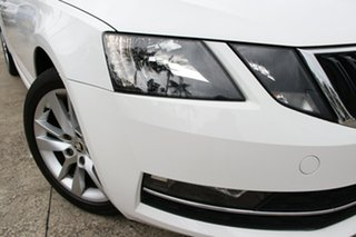 2018 Skoda Octavia NE MY18 110 TSI White 7 Speed Auto Direct Shift Sedan.