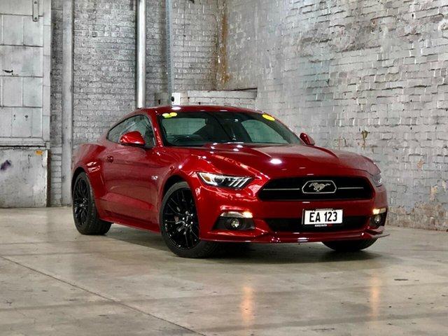 Used Ford Mustang FM GT Fastback SelectShift Mile End South, 2016 Ford Mustang FM GT Fastback SelectShift Red 6 Speed Sports Automatic Fastback